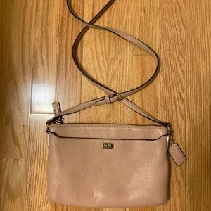 Coach Leather Cross-body Bag